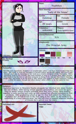 Nephthys (Character Sheet) by Strayhowl