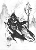 Batman by Gaslight by HillmanArts