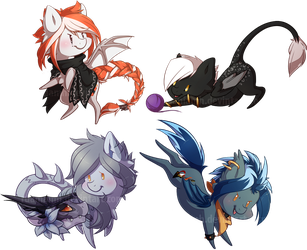 Comm : CutiePon batch 1 by Ruaniamh