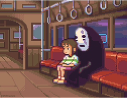 Spirited Away by AlbertoV