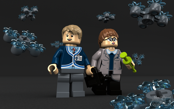 LEGO Agents of SHEILD Fitzsimmons by Concore