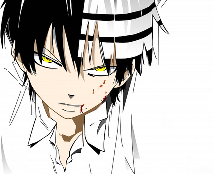 Soul Eater: Death The Kid by theBlacFlower