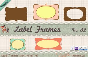 Free Frame Borders Clipart Vectors Shapes Brushes by starsunflowerstudio