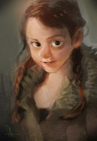 photo study - little girl by huanGH64