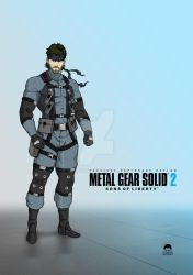 Solid Snake - Sons of Liberty by vip9008