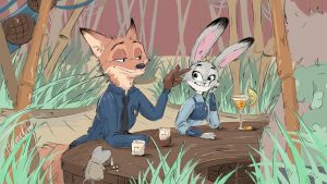 Zootopia by HaruOro