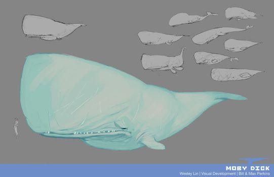 The White Whale - Moby Dick by haohaohayashi