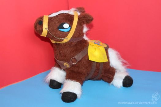 Epona Plush by MeMiMouse