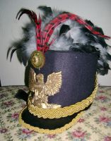 Steampunk Shako by Forfaxia