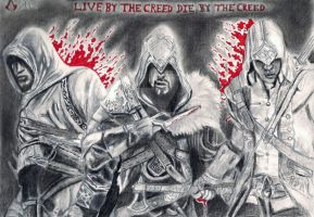 Assassin's Creed - Live By The Creed by PharmArtist