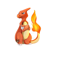 Pokemon: Charmeleon by Takarti