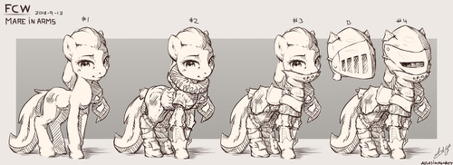 Mare in Arms by AssasinMonkey
