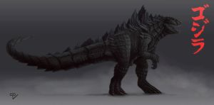 Godzilla Remake Concept by RiptorCPV