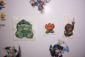Geeky Fridge Magnets by Sirithre