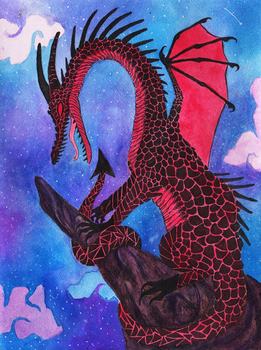 Red Dragon by The-Color-Blue