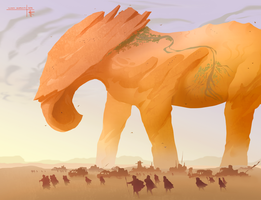 Desert Giant by Thylacinee