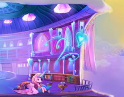 Princess Cadance Reads - Full by viwrastupr