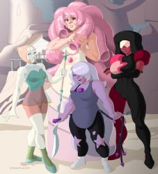 The Crystal Gems by iron-dullahan