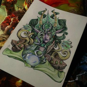 Ysera traditional by AyrinKey