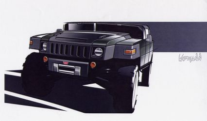 Hummer Concept by scupbucket