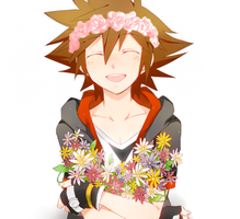 Kingdom hearts Sora by VaniilaBean
