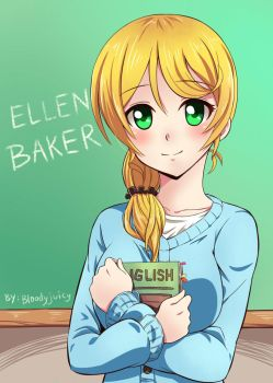 Ellen Baker by bloodyjuicy