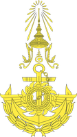 Arms of His Majesty's Royal Thai Armed Forces by FitzGeraldian