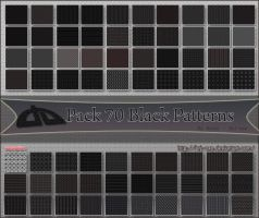 Pack 70 black Patterns V1.0 by BrJ-exe