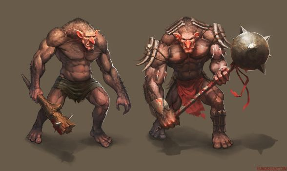 Trolls Concept 01- 02 by Shinsen