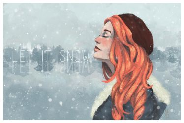 Snow Angel by Andreanable