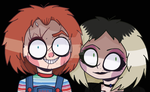 Chucky and Tiff by DollObs