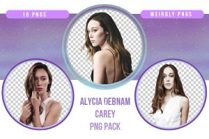 Alycia Debnam Carey PNG Pack by Weirdly-PNGS