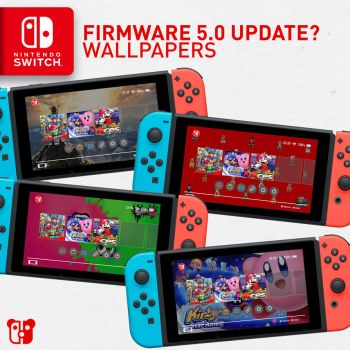 Nintendo Switch Firmware Update 5.0 Wallpapers by PeterisBeter
