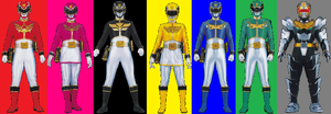 Megaforce (Adrenalineverse) by AdrenalineRush1996