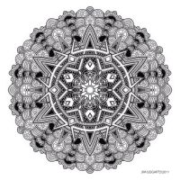 Mandala drawing 30 by Mandala-Jim