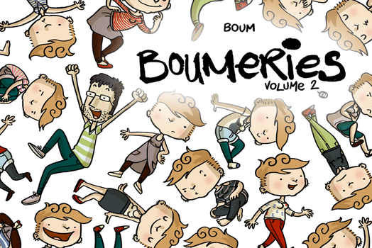 Boumeries volume 2 - Cover by boum