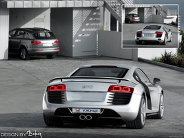 Audi R8 by Boban031