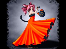 Helloween Lady by gersimy