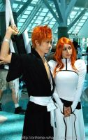 Ichigo And Orihime by Orihime-Whatsit