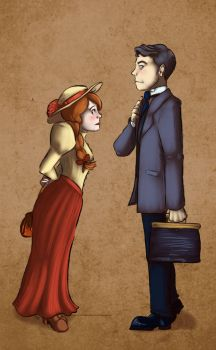 Miss Abbott and The Doctor by Yukinekocat