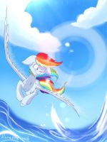 Walk on Water by lumepone