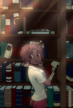 Library II by monoirre