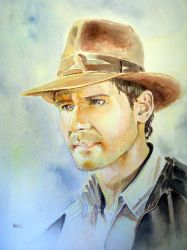 Indiana Jones by MikeKretz