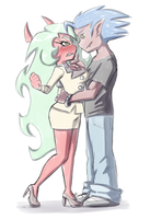 Boxer Blazer and Scanty by Mitzy-Chan
