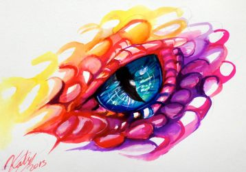 Dragon Eye by Lucky978