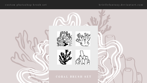 Coral Brush Set | FREE by BrielleFantasy