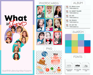 TWICE - WHAT IS LOVE? Pack by Lisethh