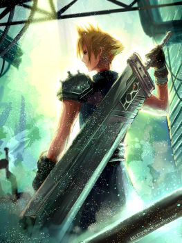 FF7 REMAKE by ElinTan