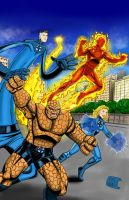 Fantastic Four by Vicnyc