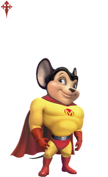 Mighty Mouse by gasa979